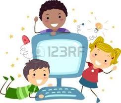 Resultado de imagen para informatica dibujos animados NIÑOS