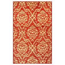 fleur de lis rug home co red beige area reviews fleur de lis rug