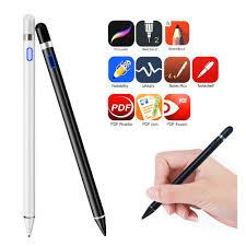 🌈NG Có thể sạc lại màn hình hoạt động điện dung Bút stylus Bút vẽ phù hợp  cho máy tính bảng iPad