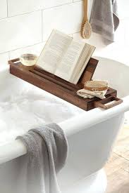 bathtub book holder teak bathtub trays for reading with book holder ideas inspiring ideas
