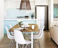 modern funky furniture. Rustic Dining Table With Eames Chairs Modern Funky Furniture I