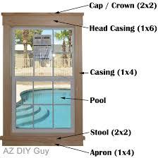 craftsman exterior window trim. Contemporary Exterior Easy DIY  Craftsman Style Window Trim Complete Tutorial With Exterior D