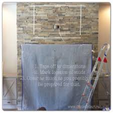 can you hang a tv over stone fireplace ideas