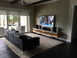 Surround Sound Living Room Design Musicbox Multi Room Music System Case Study Krinker Residence