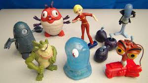 Monsters versus aliens toys