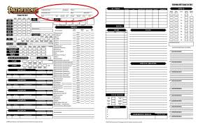 best pathfinder character sheet you ll ever use character creation