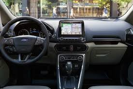 2018 ford ecosport. perfect ford interior of 2018 ford ecosport with instrument panel displaying sync 3 on  an 8inch intended ford ecosport