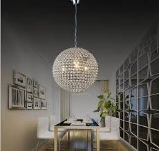 living appealing round glass ball chandelier 10