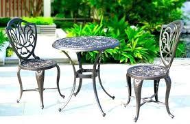 garden tables argos um image for metal garden table and chairs cream metal garden table and garden tables argos