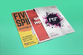 Flyer Design Ideas 2018 20 Bold Flyer Ideas Learn