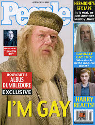 Gay dumbledore fan art