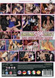 Drunk Sex Orgy Sexy Staff Party DVD Eromaxx Productions