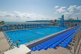 olympic size swimming pool. Olympic Size Swimming Pool And SPA - Swimming Complex Varna | By  Cristi.ionita Olympic M