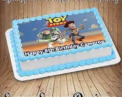 Baking Accs Cake Decorating Buzz Lightyear Toy Story Edible Cake
