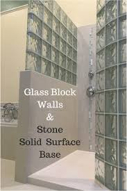 glass blocks for showers this glass block shower was premade in easy to install section the