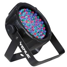 Venue Thinpar38 10mm Led Lightweight Par Light Black Venue Thinpar38 10mm Led Lightweight Par Light Black