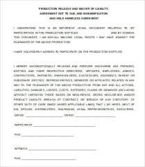 Simple General Liability Release Form Example Gallery For ...
