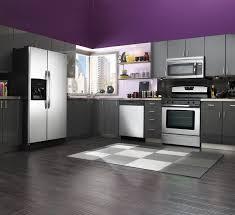 Dark Gray Cabinets Kitchen Black And Purple Kitchen Ideas Black And Purple Kitchen Kitchen