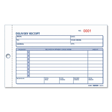 receipt book invoice sample format invitation clipart rediform 6l614 delivery receipt book 50 sheet s 2 part rediform 6l614 delivery receipt