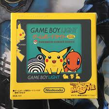 Pikachu Gameboy Light Cib Limited Edition Game Boy Light Pikachu Yellow Pokemon