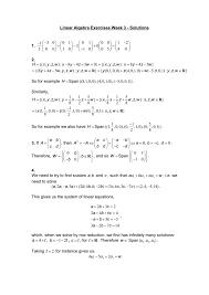 linear algebra exercise sheet 1 solutions