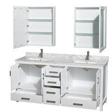 48 inch white bathroom vanity. Bathroom Vanity 48 Inch Double Sink 42 Cabinet White 24
