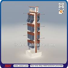 Table Top Product Display Stands Tsdc100 Custom Table Top Cardboard Pdq Rotating Socks Display 44