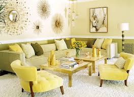 retro look furniture. retro living room furniture warm yellows showcase a 70s look along with tinge of r