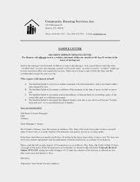 security deposit return letter inspirational request letter for