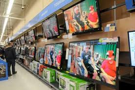samsung tv at walmart. nick meyer/staff photos tvs, one of the hot gifts for this season, are on display monday at wal-mart supercenter in saint clair. samsung tv walmart
