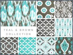 stunning printed curtains for living room popular of white with brown pattern ideas blue window treatments patterned po
