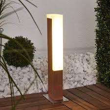 Led Sockelleuchte D Retta In Holzoptik Kaufen Lampenweltde