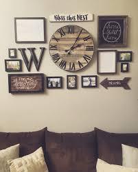 interestingly use wall clocks to glam