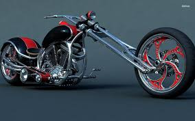 Custom Harley-Davidson Motorcycles Wallpaper  L