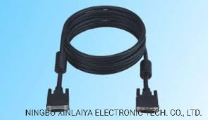 China DVI Cable <b>DVI</b>-<b>D M</b>/DVI-D F (24+1) Mold