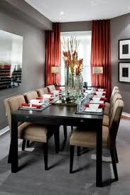 top red living room casual. Jane Lockhart Gray/Red Dining Room - Modern Toronto By Interior Design Top Red Living Casual