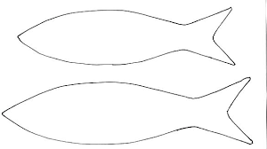 Fish Outline Coloring Page Fish Outline Printable Coloring Page Free