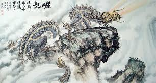 chinese paintings dragon dragon 97cm x 180cm 38 x 70 4522001 z