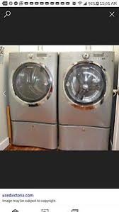 electrolux washer and dryer. electrolux washer and dryer, new, gray, front loader, selling together.no dryer