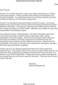 Medical Permission Letter Parental Consent Permission Letter ...