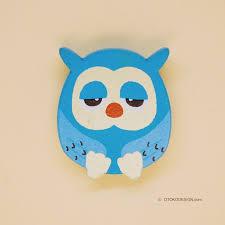<b>Брошь бижутерная</b> Сова (синий) (51976) | Handmade | Значки ...
