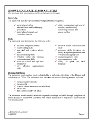 Administration Officer Sample Resume Cool Administrative Assistant Job Description Resume 44 Jobs Pinterest