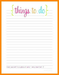Free Printable To Do List Templates Calendar With Cute Packing