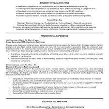 Maintenance Technician Resume Samples Resume Peppapp