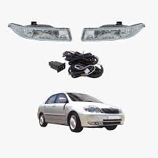 Complete Oem Style Fog Light Kit Fits Toyota Corolla Sedan Zze122 12 2001 04 2004 Ty400