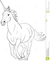 Ty Beanie Kleurplaat Unicorn Stock Photos Image 10291743
