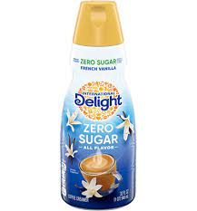 Calories reduced from 35 to 20 per serving). Zero Sugar French Vanilla Coffee Creamer