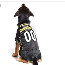 Steelers Dog Jersey Size Large