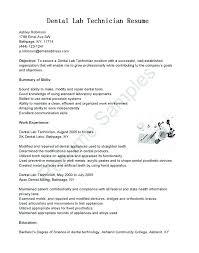 Orthodontist Work Environment Orthodontics Resume Sample Format