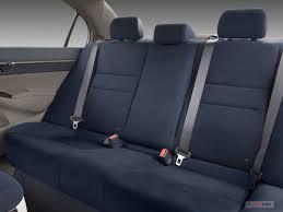 2007 honda civic hybrid rear seat